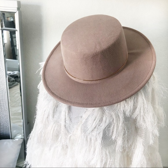 Accessories - NEW: Taupe Hipster Hat